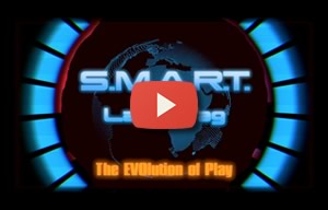 laser tag equipment by Smart Laser Tag logo